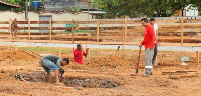 Obras da agência do Banpará em Bagre já iniciaram